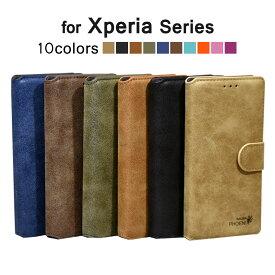 Xperia XZs ケース SO-03J SOV35 602SO Xperia XZ Xperia X Compact XperiaZ5 Xperia Z5 Compact Xperia Z5 Premium SO-01J SOV34 SO-02J SOV32 501SO SO-03H SO-02H 手帳型ケース SO-01H Android エクスペリアxz アンドロイド スマホケース シンプル カード入れ スタンド