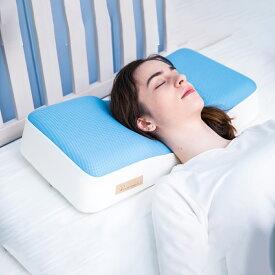 枕 快眠枕 横向き寝枕 洗える 高反発 ジェントルリーマ【セール価格】