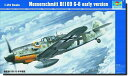 トランペッター 1/24 AIRCRAFT 02407 Messerschmitt Bf109 G-6 early version
