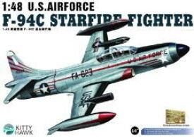 MSモデル キティホークモデル No.KH80101 1/48 米空軍 F-94C スターファイア戦闘機