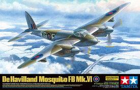 タミヤ エアークラフト No.60326 1/32 デ・ハビランド モスキート FB Mk.VI