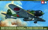 タミヤ1/48傑作機No.27日本海軍零式艦上戦闘機52丙型(A6M5c)