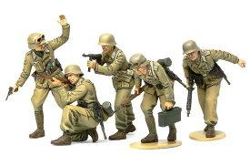 ドイツ アフリカ軍団歩兵セット タミヤ 1/35 MM314