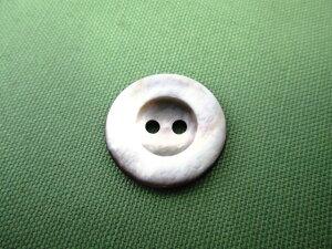 黒蝶貝 2つ穴ボタン S3125 20mm 1個