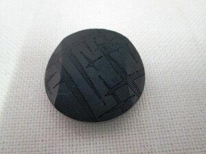 黒ボタン1448 25mm NEW