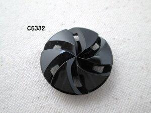 黒ボタン C5332 20mm 1個