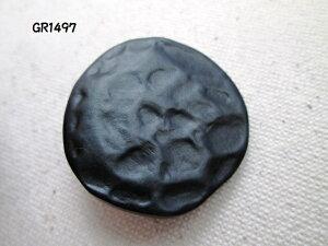 黒ボタン GR1497 30mm 1個