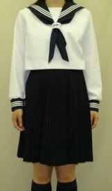 SN29合服長袖セーラー服ネクタイ通し刺繍入りスィン○ガールズタイプ