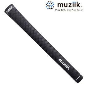 ムジーク ドライコンパウンド パワーミッド ブラック メール便対応可(260円) ゴルフグリップ