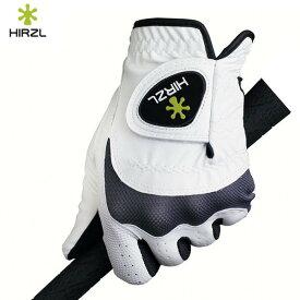 うなぎも掴める 汗や雨にも強いと話題 ハーツェル トラスト ハイブリッド プラス ゴルフ グローブ ホワイト HIRZL TRUST Hybrid + メール便対応可(260円)