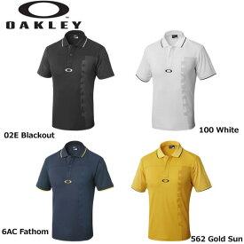 オークリー BARK MESHED LOGO POLO 434189 バーク メッシュ ロゴ ポロ ポロシャツ 半袖ポロシャツ OAKLEY 2018年モデル