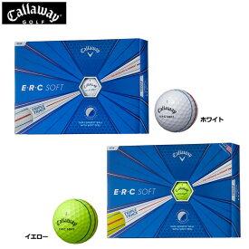キャロウェイ ERCソフト ゴルフボール CALLAWAY SOFT