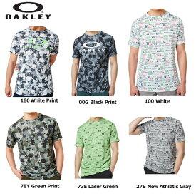 オークリー 458146 Enhance QD SS Tee Graphic 半袖Tシャツ ティーグラフィック