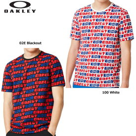 オークリー 457884 Oakley Usa Allover Tee 半袖Tシャツ