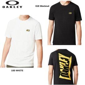 オークリー 457903 Oakley Broken 半袖Tシャツ Tee Oakley