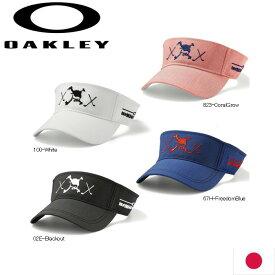 在庫処分 OAKLEY 911836JP SKULL CLUB VISOR 日本仕様 オークリー スカル クラブ バイザー