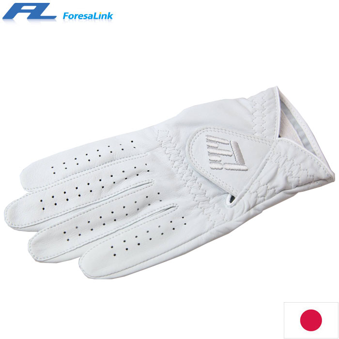 フォーサリンク(ForesaLink) F/L CABRETTA シープスキングローブ ホワイトフィット
