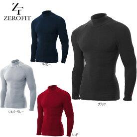 ZERO FIT HEATRUB ゼロフィット ヒートラブ 長袖モックネックシャツ イオンスポーツ