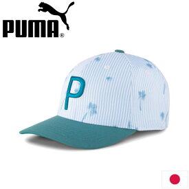 PUMA 023251 プーマゴルフ シアサッカー P 110 スナップバック キャップ 日本正規品 PUMA GOLF