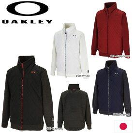 OAKLEY 461794JP SKULL HYBRID PUFF SWEATER BLOUSON 日本仕様 オークリー スカル ハイブリッド 中綿 セーター ブルゾン