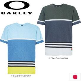 OAKLEY FOA400257 STRIPED 1975 SHORT SLEEVE TEE 日本正規品 オークリー ストライプ 1975 半袖Tシャツ