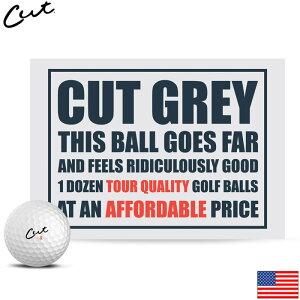 Cut Golf CUT Grey Ball US カットゴルフ カット グレー ボール 1ダース US