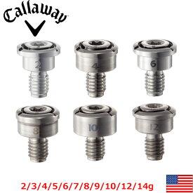 メーカー純正品 Callaway Screw Weight EPIC SPEED DR/FW MAX FW USキャロウェイ スクリューウェイト 2g3g4g5g6g7g8g9g10g12g14g 単品