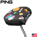 PING 35557-01 VINTAGE STROBIC MALLET PUTTER COVER US ピン ビンテージ ストロビック マレット パターカバー