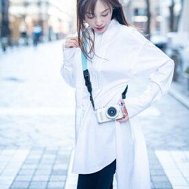 カメラストラップ「chiKano」【日本製 名入れ PVC レザー 一眼レフ ミラーレス デジカメ おしゃれ ネックストラップ ハンドストラップ カメラ ストラップ かわいい 】