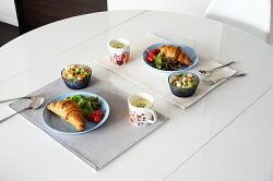 yuki×TEESFACTORYリバーシブルランチョンマット「fit」【送料無料おしゃれ日本製撥水レザー北欧雑貨ランチマット無地テーブルウェア】
