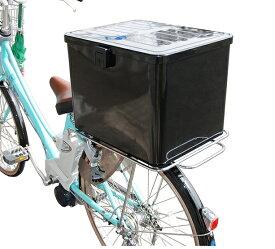 【送料無料】【リンエイ】 【取付セット一式】【業務用】ラゲッジボックスNo.4+サブキャリアセット 汎用 各種自転車、電動自転車に対応 大容量 宅配 デリバリー 【サブキャリアで自転車の荷台を拡張!】