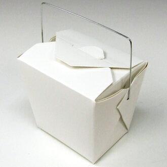 美國製造原始褶皺-白石,227 毫升框耐水油湯 OK 側功能表食品每打包