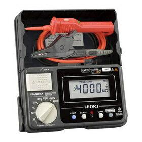 日置電機 HIOKI IR4051-11 5レンジ絶縁抵抗計 スイッチ付リード付属 50/125/250/500/1000V 『IR405111日置』『405111日置』