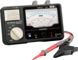 日置電機 HIOKI IR4032-10 3レンジ絶縁抵抗計 テストリード付 125/250/500V 『IR403210日置』『403210日置』