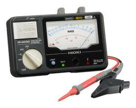 日置電機 HIOKI IR4030-10 3レンジ絶縁抵抗計 スイッチなしテストリード付 25、50、125V 『IR403010日置』 『403010日置』
