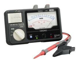 日置電機 HIOKI IR4013-11 単レンジ絶縁抵抗計 スイッチ付リードセット 500V 『IR401311日置』 『401311日置』
