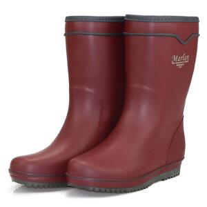 弘進ゴム レディース レインブーツ 長靴 農作業 ガーデニング 軽い 梅雨 疲れにくい マリアンライトML-06 プラム