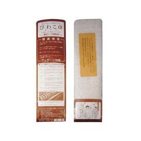 ガラ紡タオル びわこα 〔浴用〕 100×32cm