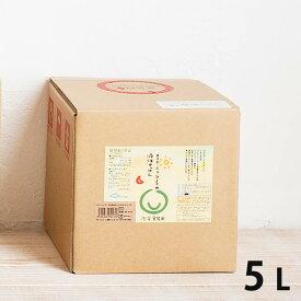 【お取り寄せ】メイド・イン・アースの液体せっけん お洗濯・食器洗い・掃除用 5L 〔キューブ〕 【送料当店負担】 日本製