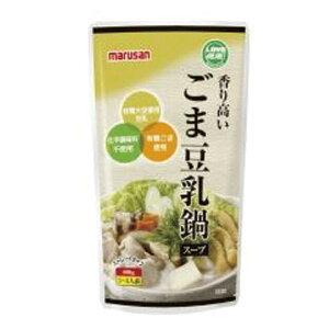 マルサン 香り高いごま豆乳鍋スープ600g /化学調味料不使用 有機豆乳 鍋の素