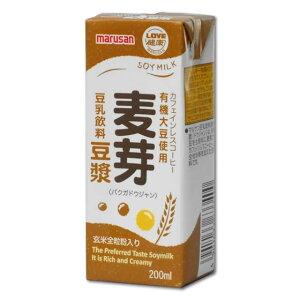 マルサン 麦芽豆漿カフェインレスコーヒー200ml