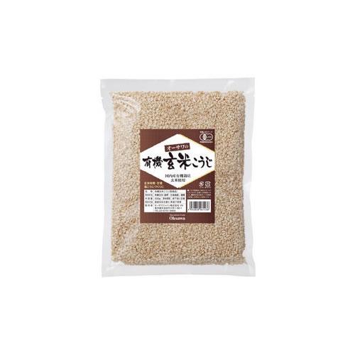 オーサワ 有機乾燥玄米こうじ〔玄米麹・玄米糀〕500g