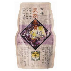 遠藤製餡 有機 天然美食 ぜんざい 180g