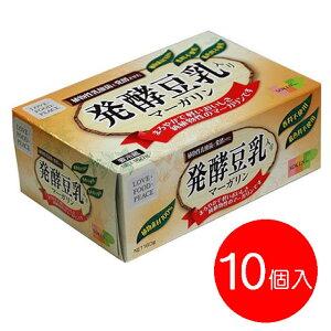 【お取り寄せ・冷蔵】【1ケース10個入り】創健社発酵豆乳入りマーガリン160g×10個