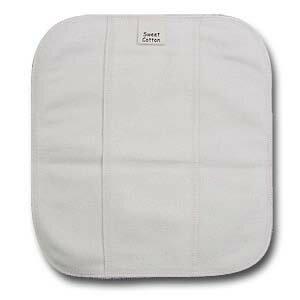 すぃーとこっとん プレーン〔ライナー〕 きなり【メール便可】/ 軽い日用 おりもの 布ナプキン 20cm