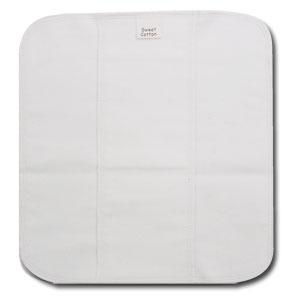 すぃーとこっとん プレーン〔レギュラー〕 きなり【メール便可】/羽なし 普通の日用 布ナプキン 24cm