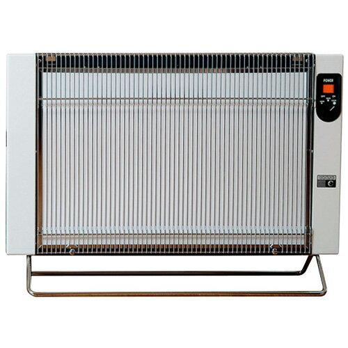 サンラメラ1200W型 1201型 ホワイト色 暖房 遠赤外線輻射式セラミックパネルヒーター 送料無料