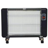 サンラメラ600W型605型 ピアノブラック(限定色)暖房 遠赤外線輻射式セラミックパネルヒーター送料無料
