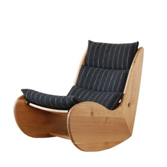 Hida Sangyo Woods Word Ibuki Series Rocking Chair Ff108 La Upholstery Leather A Wood Marks
