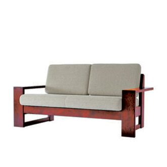 Adventure Industries Hokkaido Folk Art Furniture Series Sofa 2 P Hm103w Upholstery Leather Mark Rank Wood